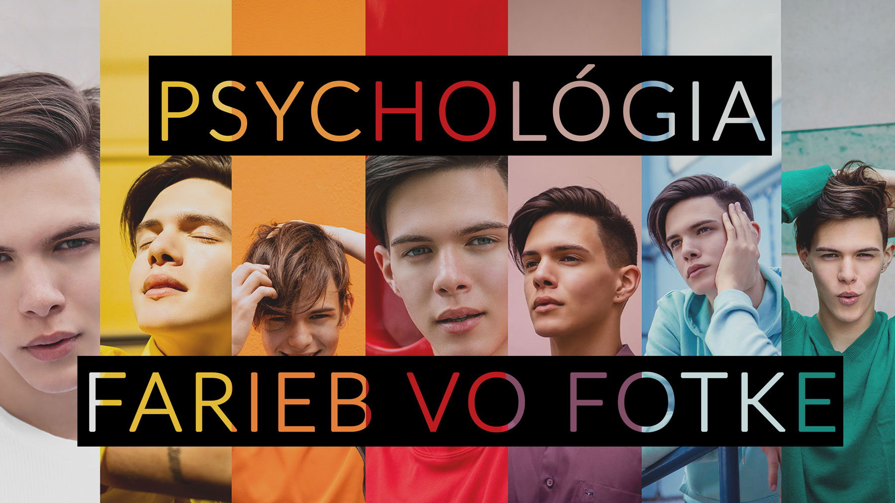 psychológia farieb vo fotke