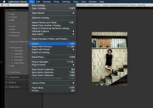 Ako používať presety v LightRoome export