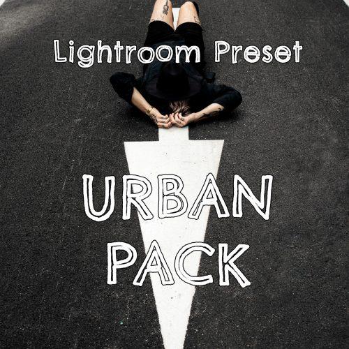 Lightroom presety pre fotky z mesta Urban Pack