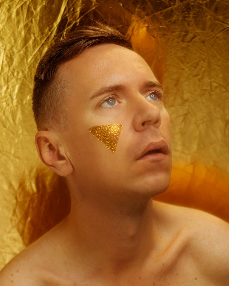 zlatý autoportrét Peter Plichta