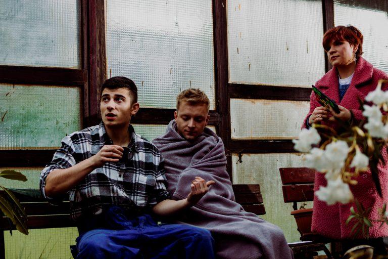 Fotky z natáčania filmu Bytosť Richard Pekárek, Tomáš Magát v zákulisí
